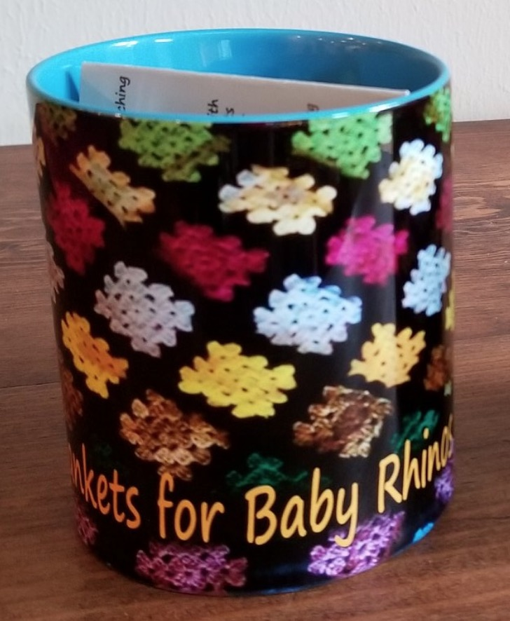 Blankets For Baby Rhinos Mugs are now available to buy!