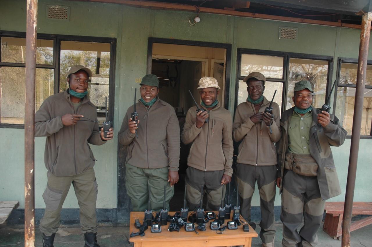 Radios arrive in Zimbabwe
