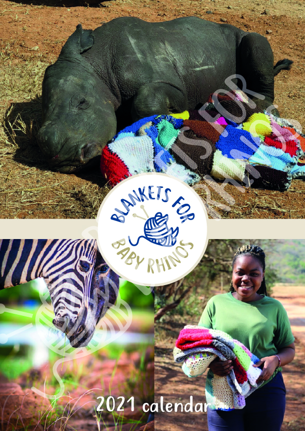 BLANKETS FOR BABY RHINOS 2021 CALENDAR on sale now!