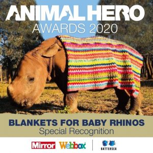 animal hero award