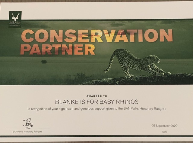 BFBR receives SANparks Award